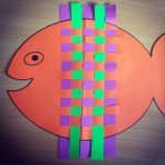 Silly Fish Weave - Paper Craft with Printable Template!