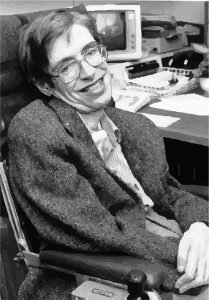 The Late Professor Stephen Hawking at NASA's StarChild Learning Center in the 1980s