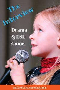 The Interview is a great drama and ESL game that gets students thinking about sentence structure with hilarious results!