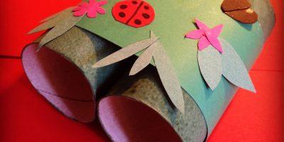 Kid's Craft – Camouflaged Binoculars