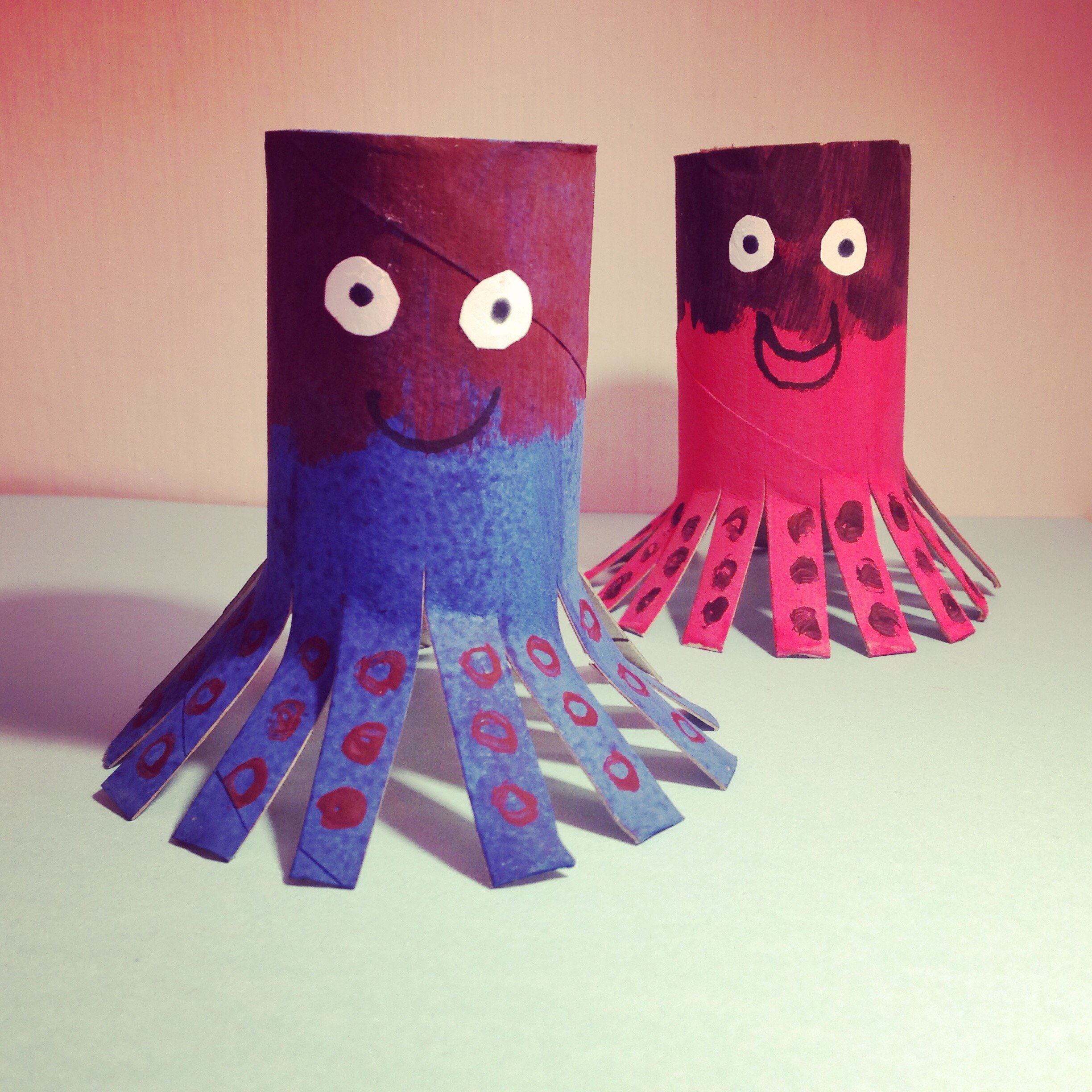 Kid's Craft – Silly Octopi
