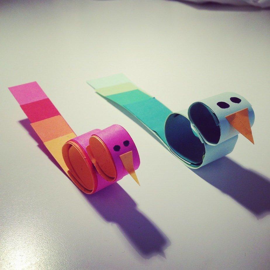 Kid's Craft – Silly Birds