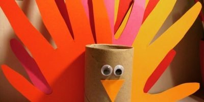 Kid's Craft – Hand Print Turkey