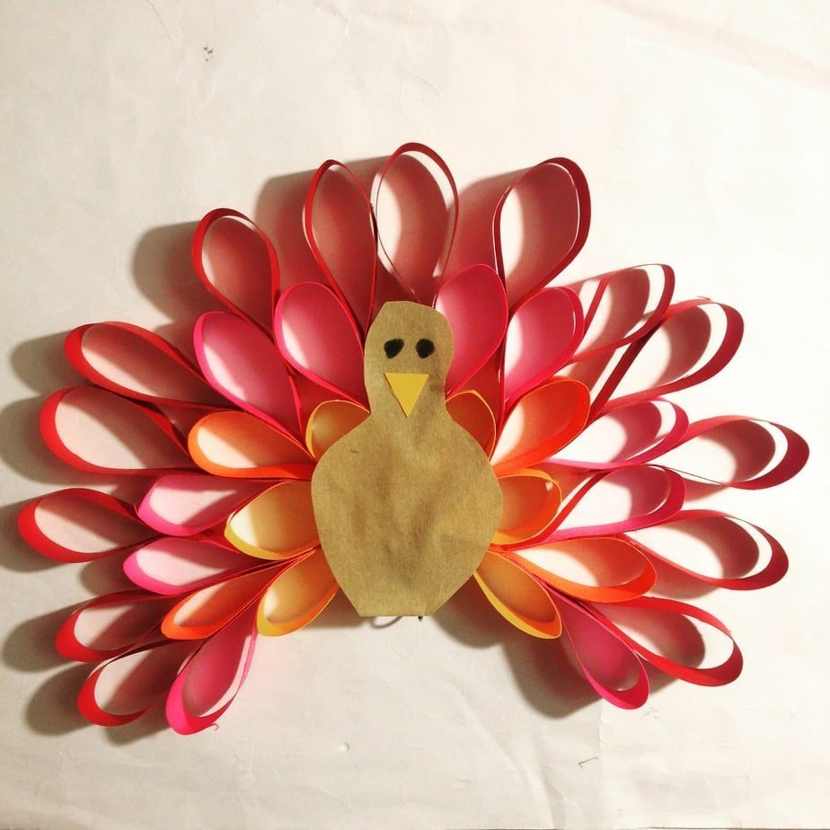 Kid's Craft – Thanksgiving Turkey