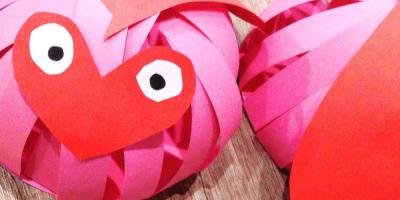 Love Bugs   Valentine's Day Kids Craft