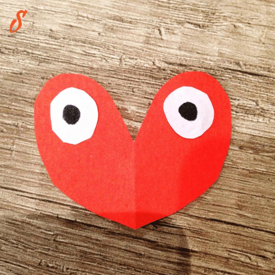 Step ten in the Love Bugs craft tutorial