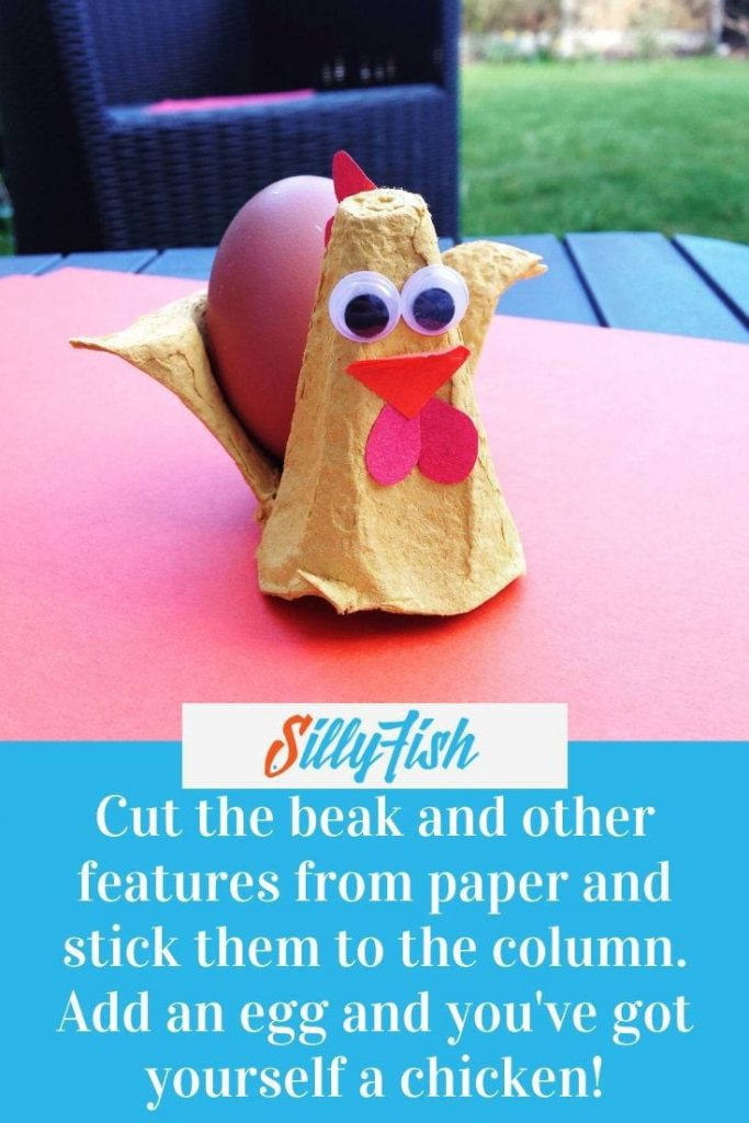 step 4 to create an Easter Egg Cup