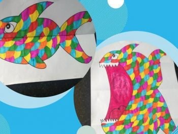 Kid's Craft | Ferocious Fish