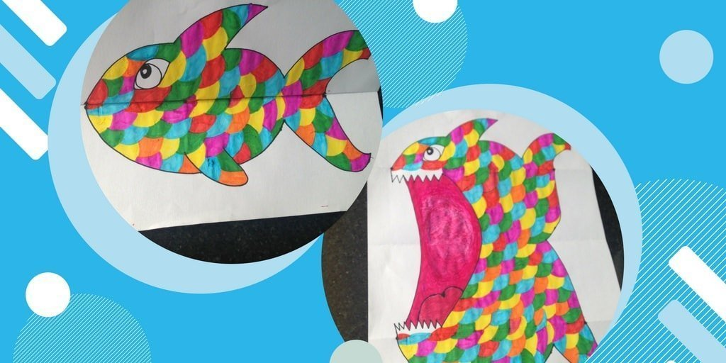 Kid's Craft | Ferocious Fish