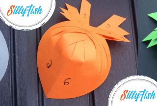 Paper Folded Fish   Kid's Craft