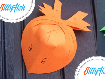Paper Folded Fish | Kid's Craft