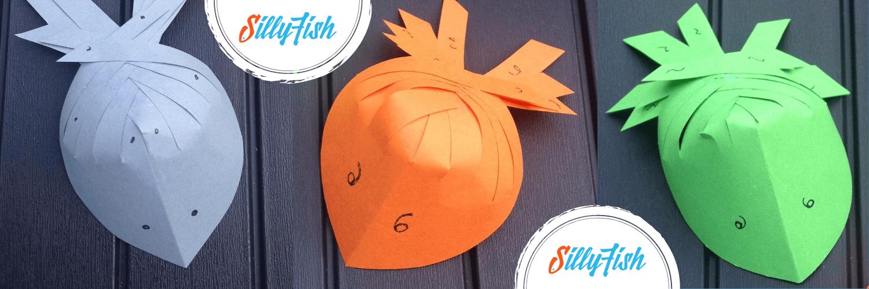 Paper Folded Fish | Kid's Craft