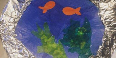 Kid's Craft | Paper Plate Portholes!