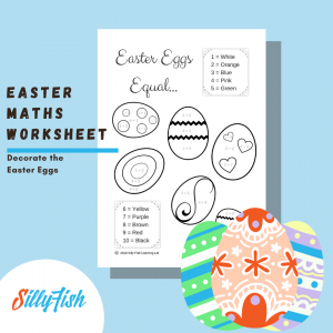 Product image for Easter Maths Worksheet
