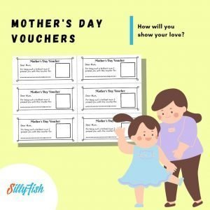 Product image for Mother's Day Vouchers Worksheet