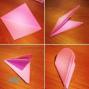 Pop Up Flower's Card step 3