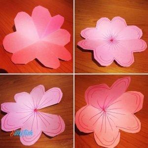 Pop Up Flower's Card step 4