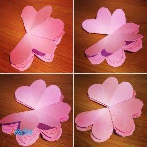Pop Up Flower's Card step 5