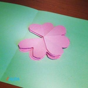 Pop Up Flower's Card step 7