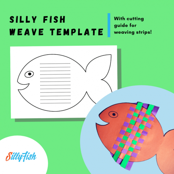 Silly Fish Weave Template_ Silly Fish Learning