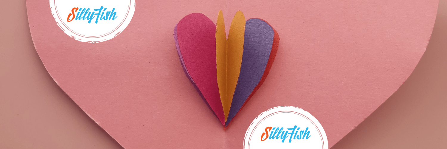 Pop-up Heart Card | Kid's Craft for Valentine's Day