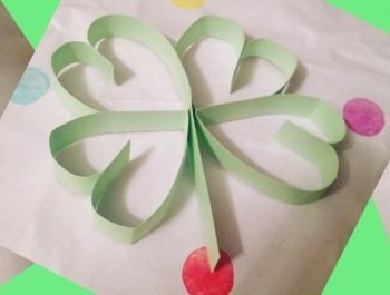 Paper Four-leaf Clover | Simple Kid's Craft for St. Patrick's Day
